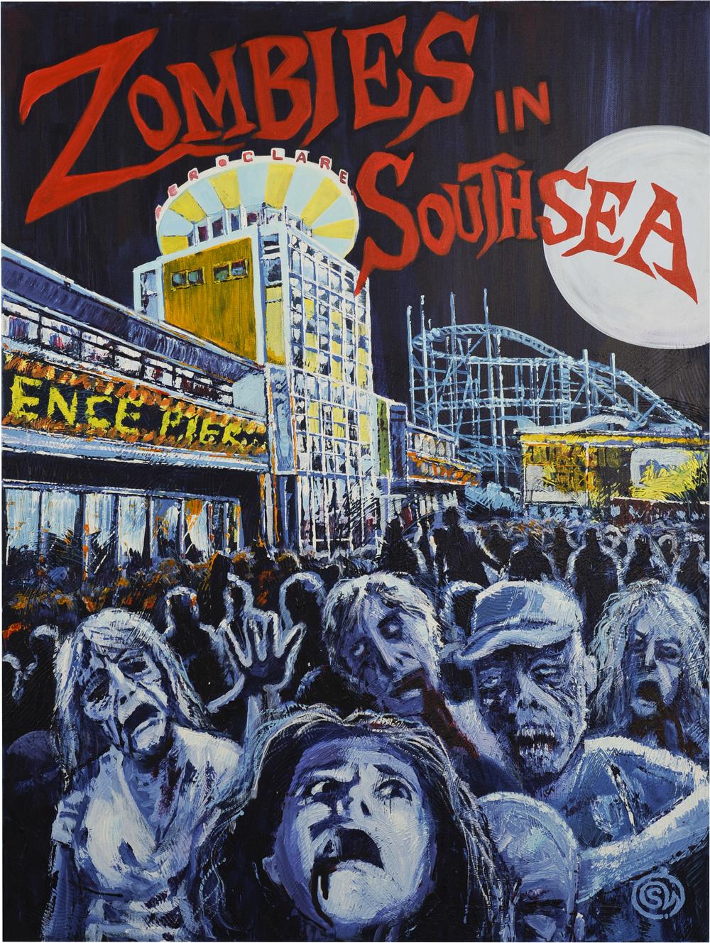 Zombies in Southsea
