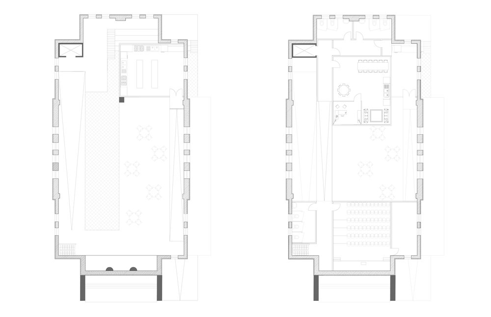 Plan - Floors 2 & 3