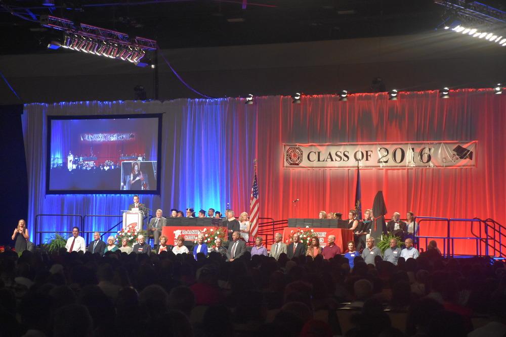 McCaskey High School Graduation - Lancaster, PA
