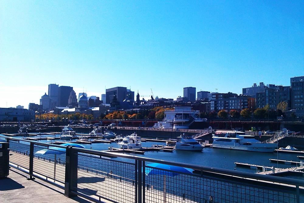 Un été sur le vieux port de Montréal, Qc