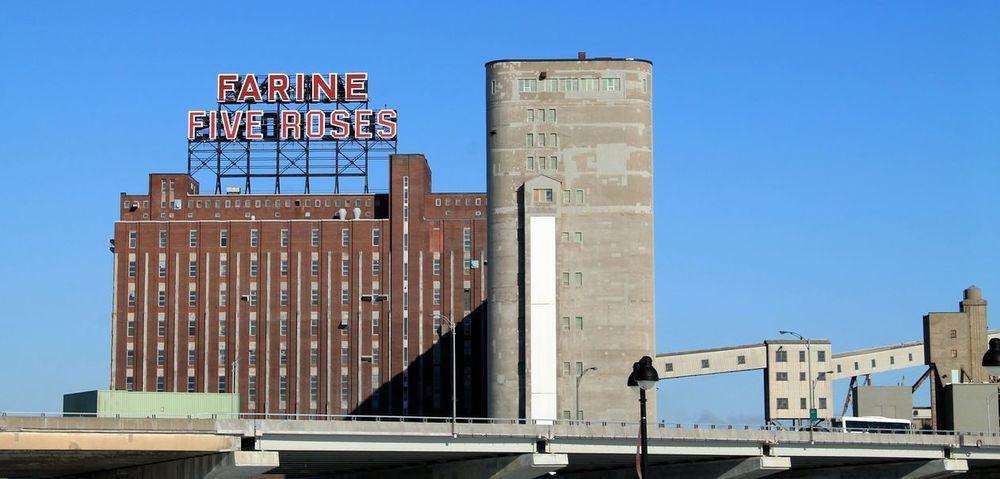 """La Minoterie """"Farine Five Roses"""", Vieux Port de Montréal, Qc"""
