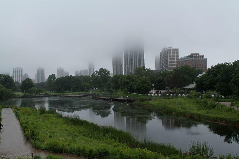 Skyline, Lincoln Park, Chicago, IL, USA