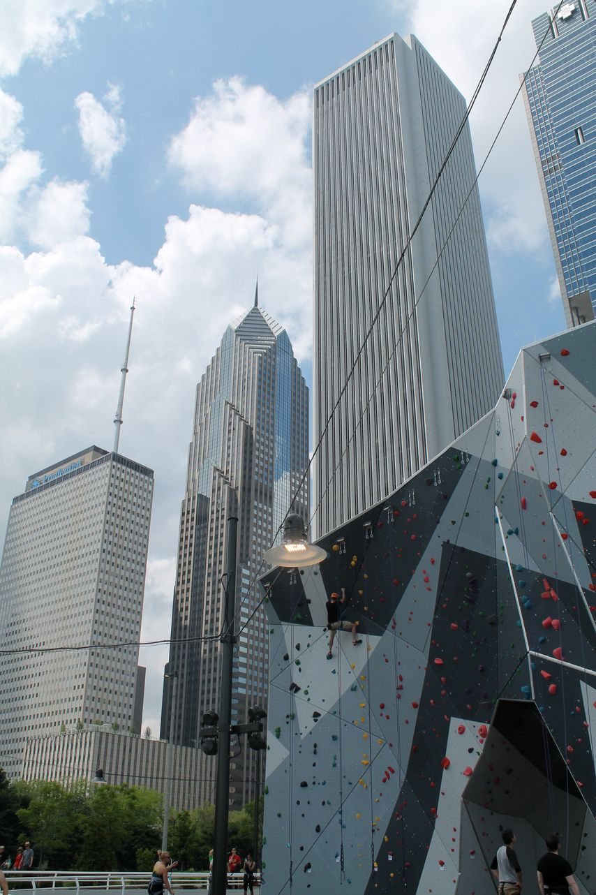 The Loop, Millenium Park, Chicago, IL, USA