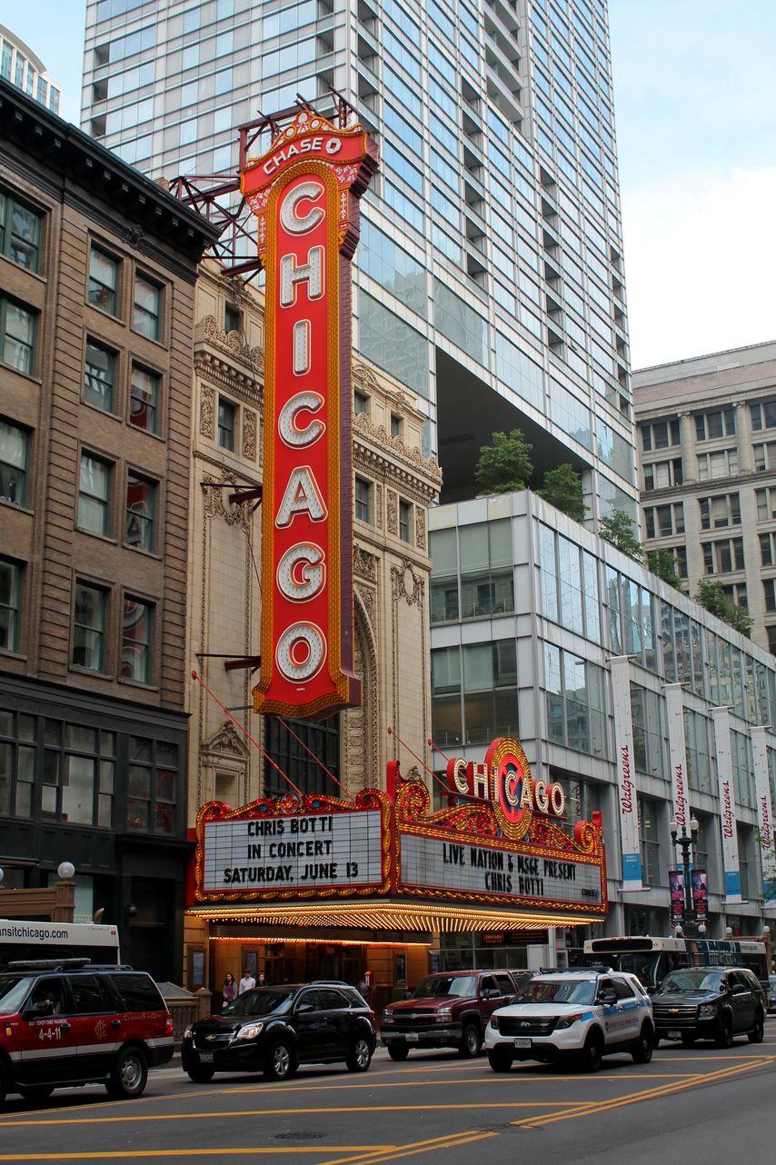 Chicago Theater, Chicago, IL, USA