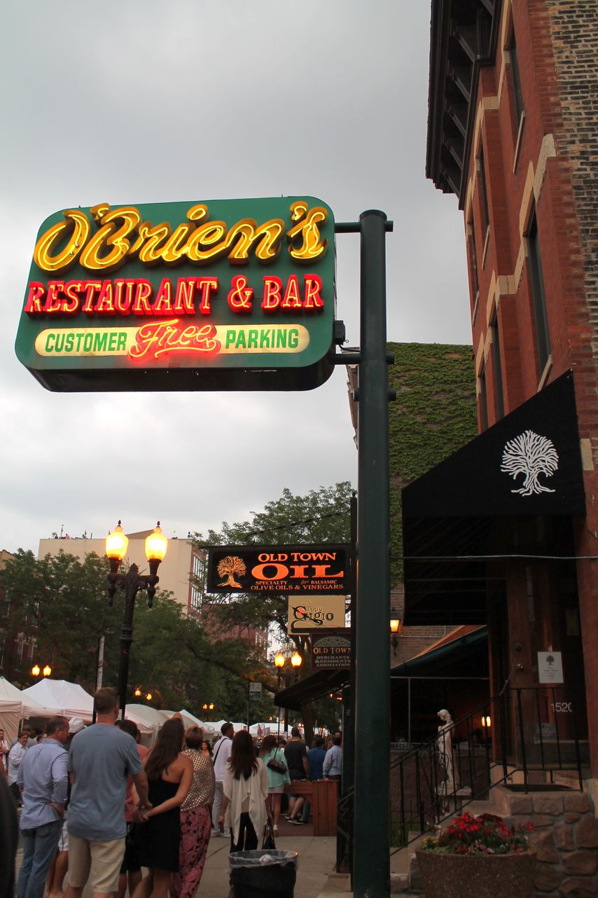 Old Town, Chicago, IL, USA
