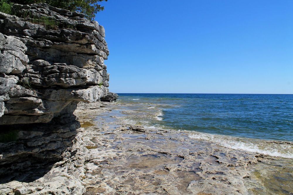 Cave Point County Park, WI, USA