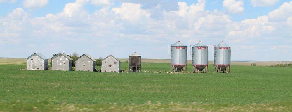 On the Road, Saskatchewan, Canada