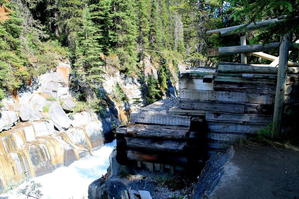 "Le pont qui n'est plus... fin de la ""rando"", The Rockwall Trail, Kootenay National Park, AB, CA"