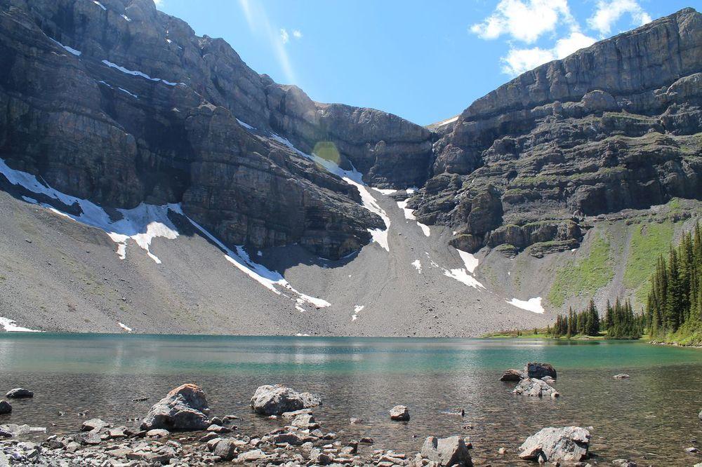 Bourgeau Lake, Banff National Park, AB, CA