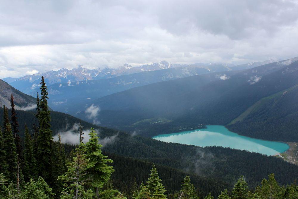 Emerald Lake Triangle Trail, Yoho National Park, BC, CA