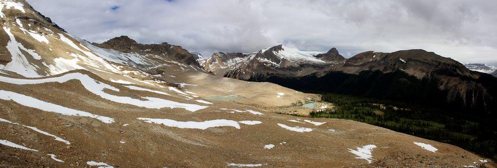 Iceline Trail, Yoho National Park, BC, CA