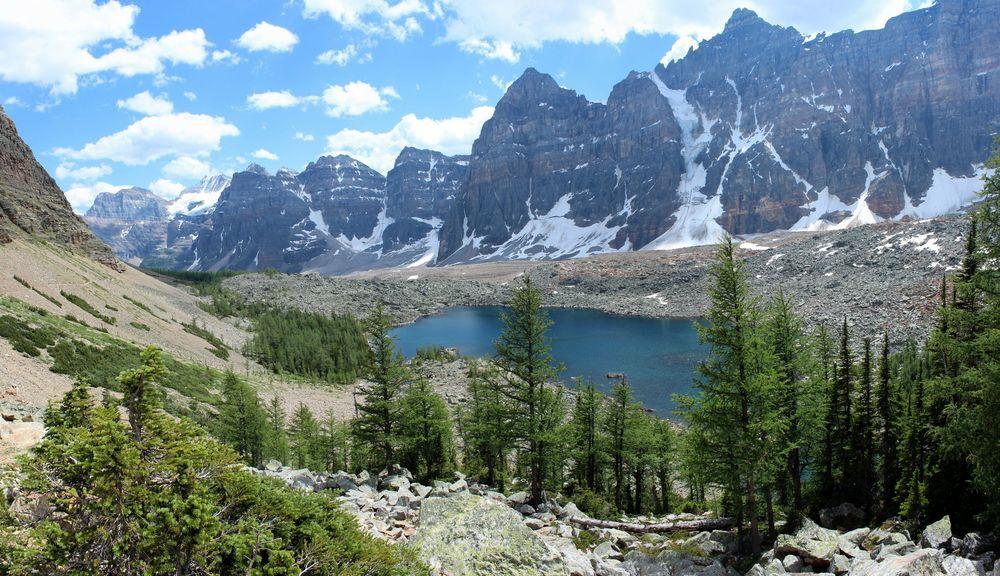 Ten Peaks Trail, Moraine Lake, Banff National Park, AB, CA
