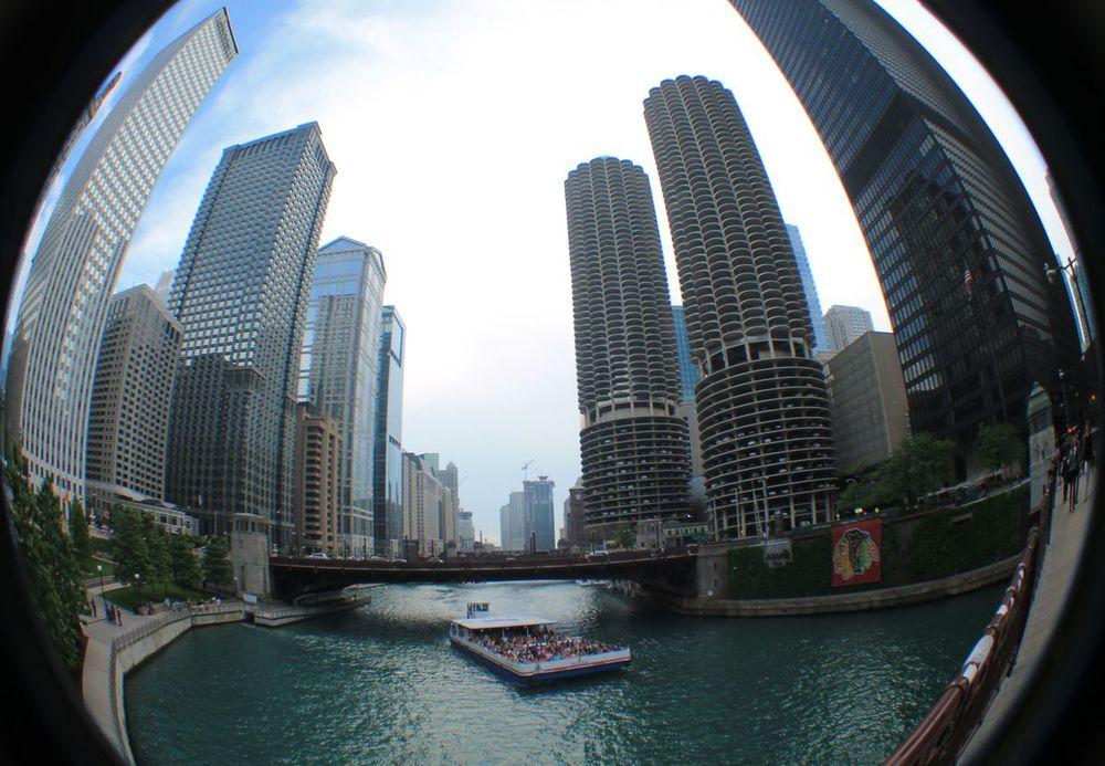Chicago River, Chicago, IL, USA