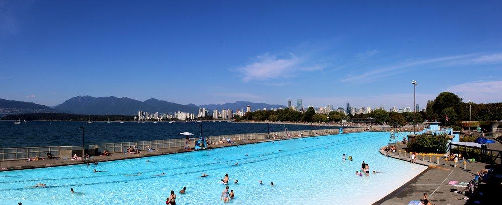 Piscine de Kistilano Beach, Vancouver, BC, CA