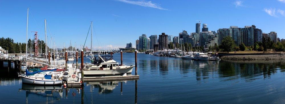 Vue de Stanley Park, Vancouver, BC, CA