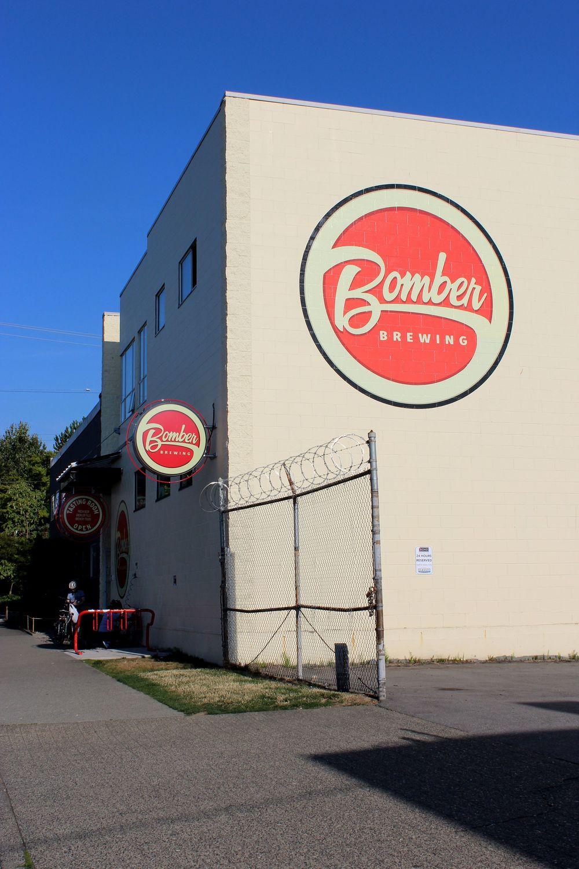 Microbrasserie Bomber, Quartier de Grandview, Vancouver, BC, CA