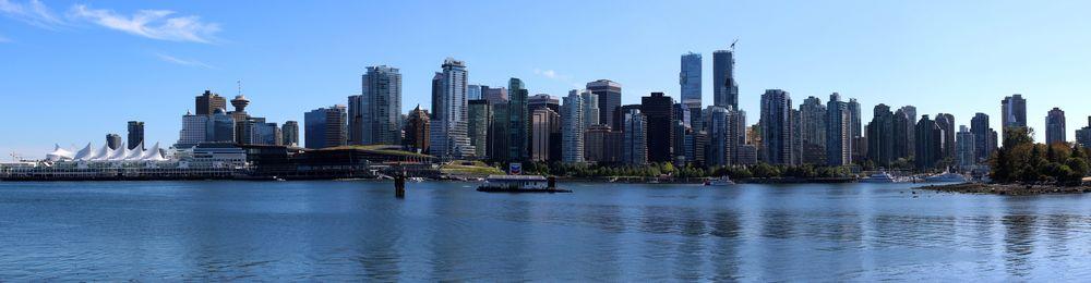 Vue de Vancouver, Stanley Park, Vancouver, BC, CA