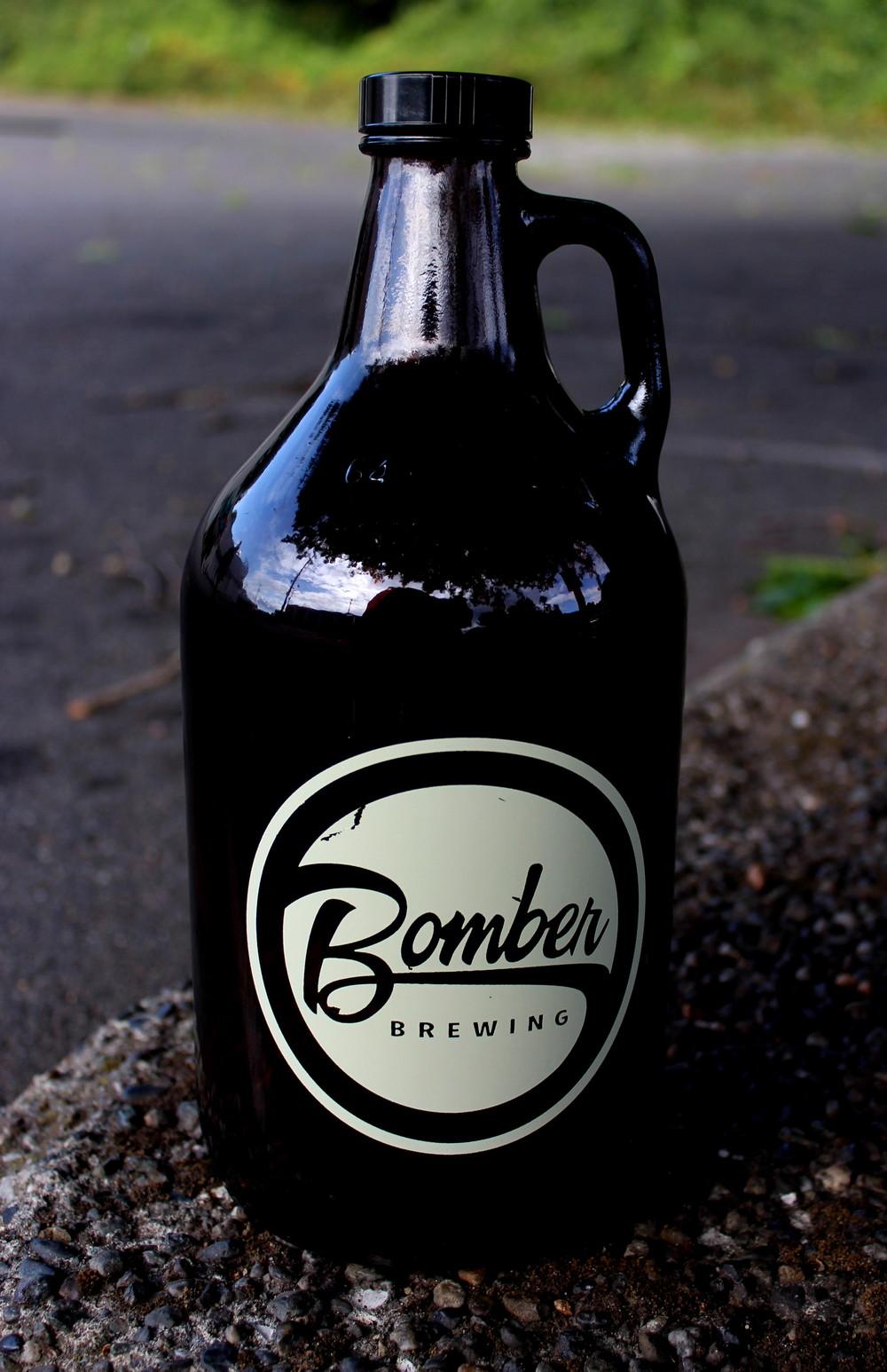 Jarre de la Microbrasserie Bomber, Vancouver, BC, CA