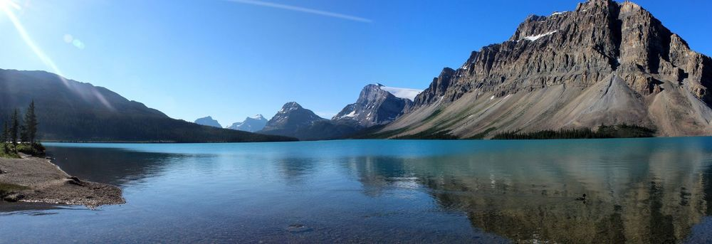Bow Lake, Icefield Parkway, Banff National Park, AB, CA