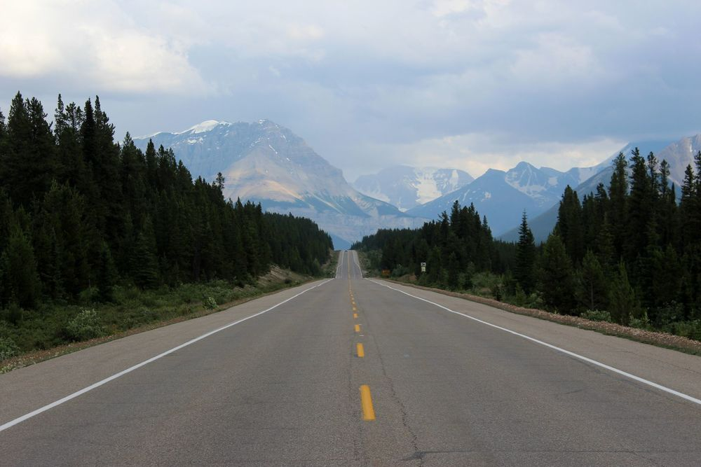 Highway 93, Jasper National Park, AB, CA