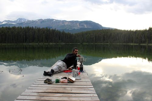 Cooking time, Jasper National Park, AB, CA