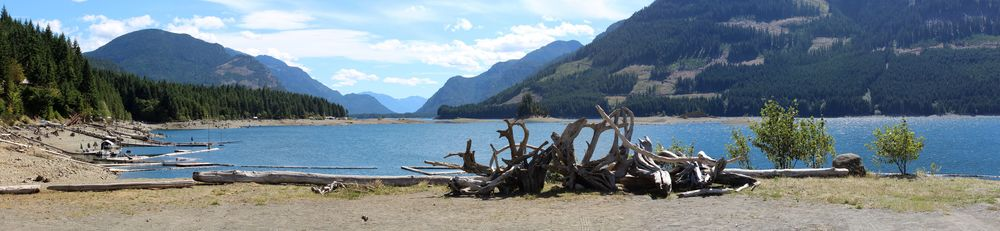 Buttle Lake, Strathcona Provincial Park, BC, CA
