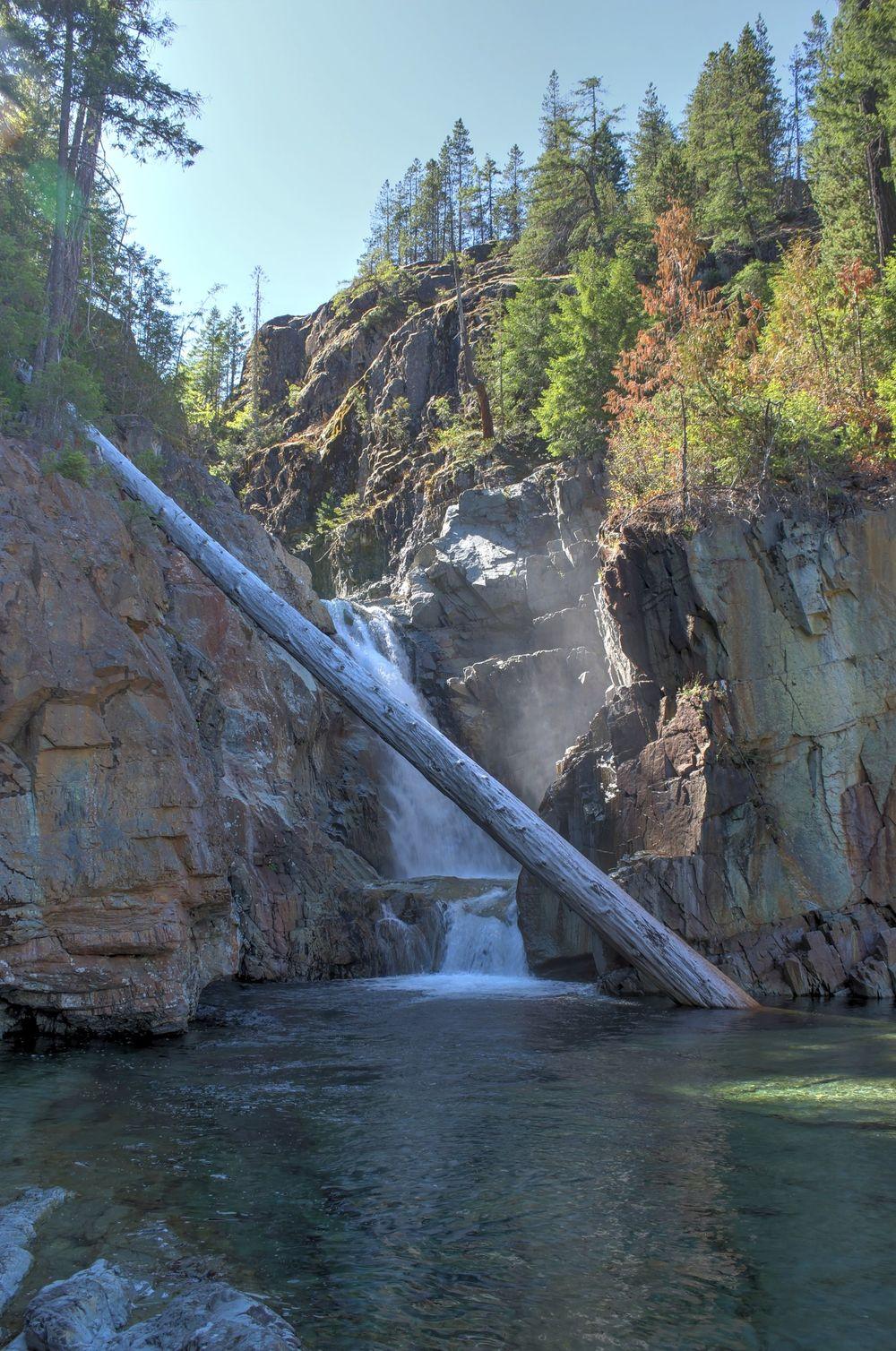 Myra Falls, Strathcona Provincial Park, BC, CA