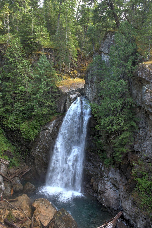 Lady Falls, Vancouver Island, BC, CA