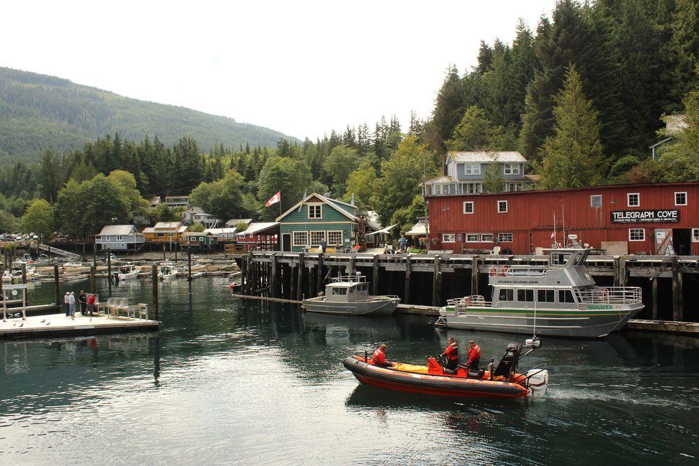 Telegraph Cove, Vancouver Island, BC, CA