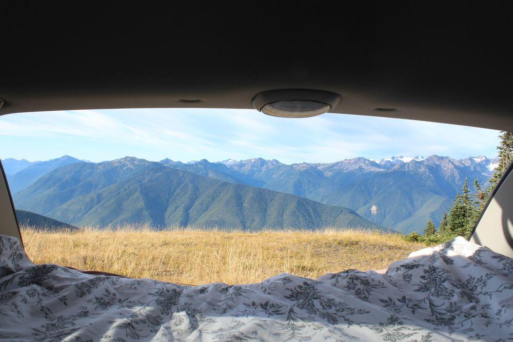 Réveil à Hurricain Ridge, Olympic National Park, WA, USA