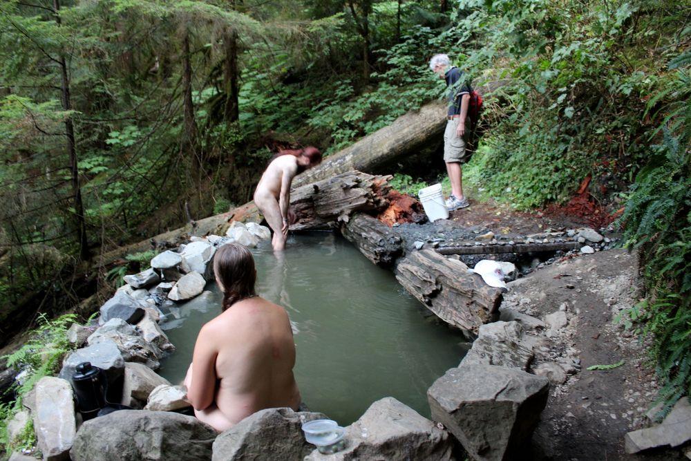 Hot Springs, Olympic National Park, WA, USA