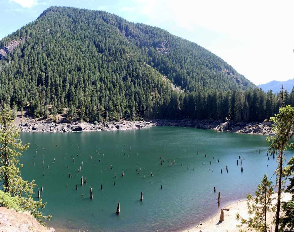 Len Lake, Hamma Hamma, Jefferson County, Olympic National Park, WA, USA