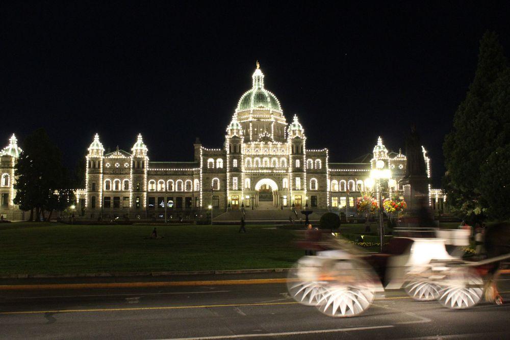 Legislative Building, Inner Arbour, Victoria, BC, CA