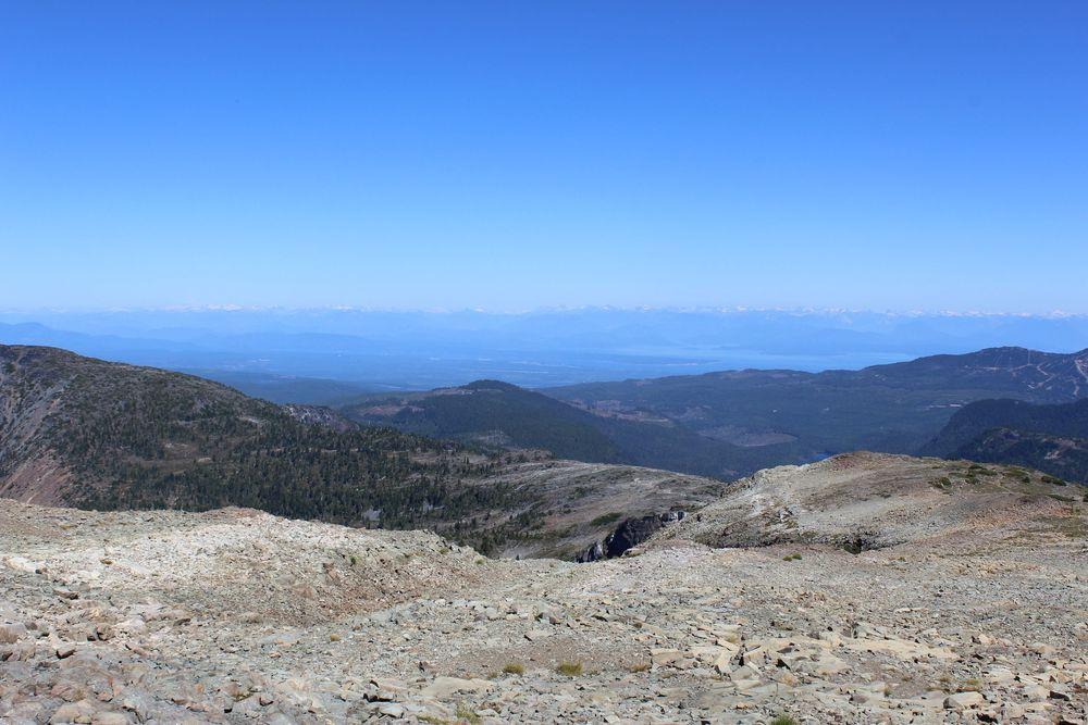Mont Albert, Forbidden Plateau, Strathcona Provincial Park, BC, CA