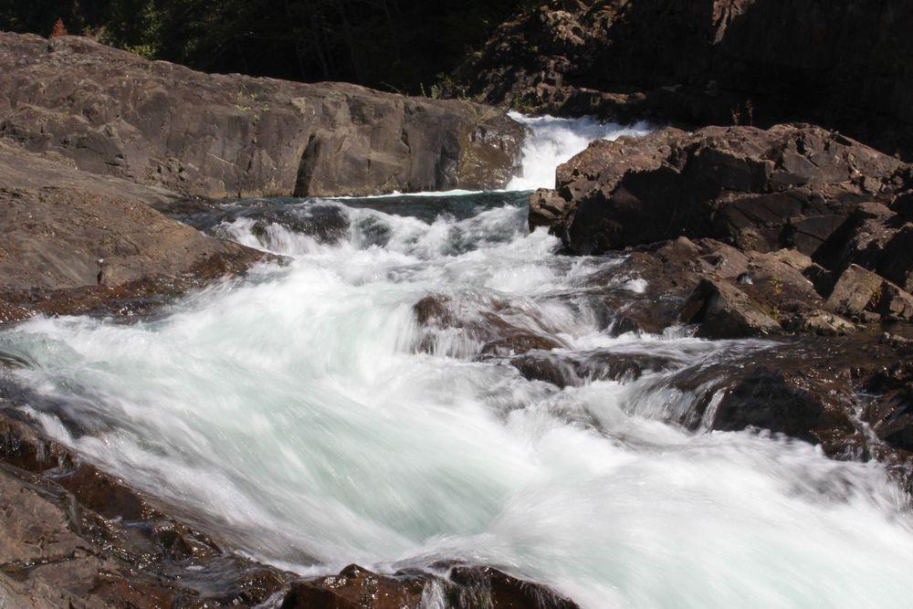 Elk Falls, Vancouver Island, BC, CA
