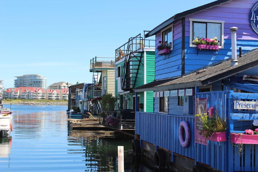 Fisherman's Wharf, Victoria, BC, CA