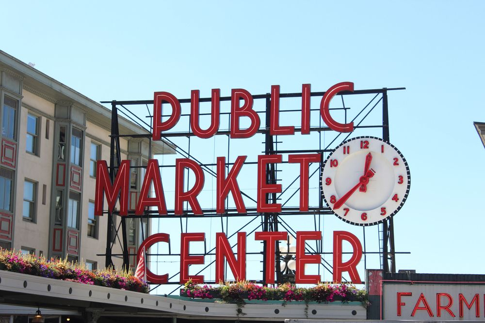 Pike Place Market, Seattle, WA, USA