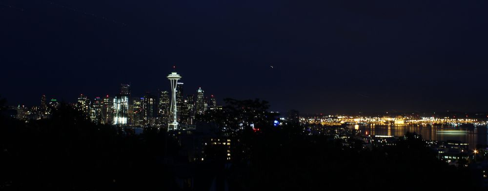 Seattle vue de Kerry ¨Park, WA, USA