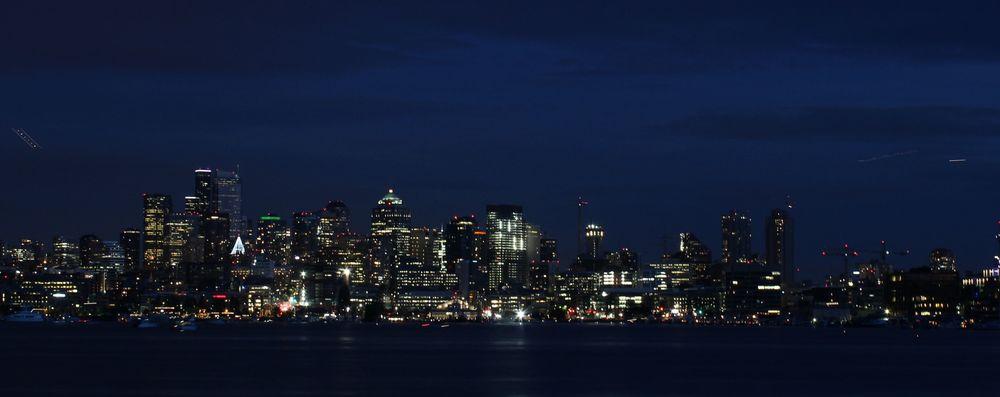 Seattle vue de Kerry ¨Park, WA, USA