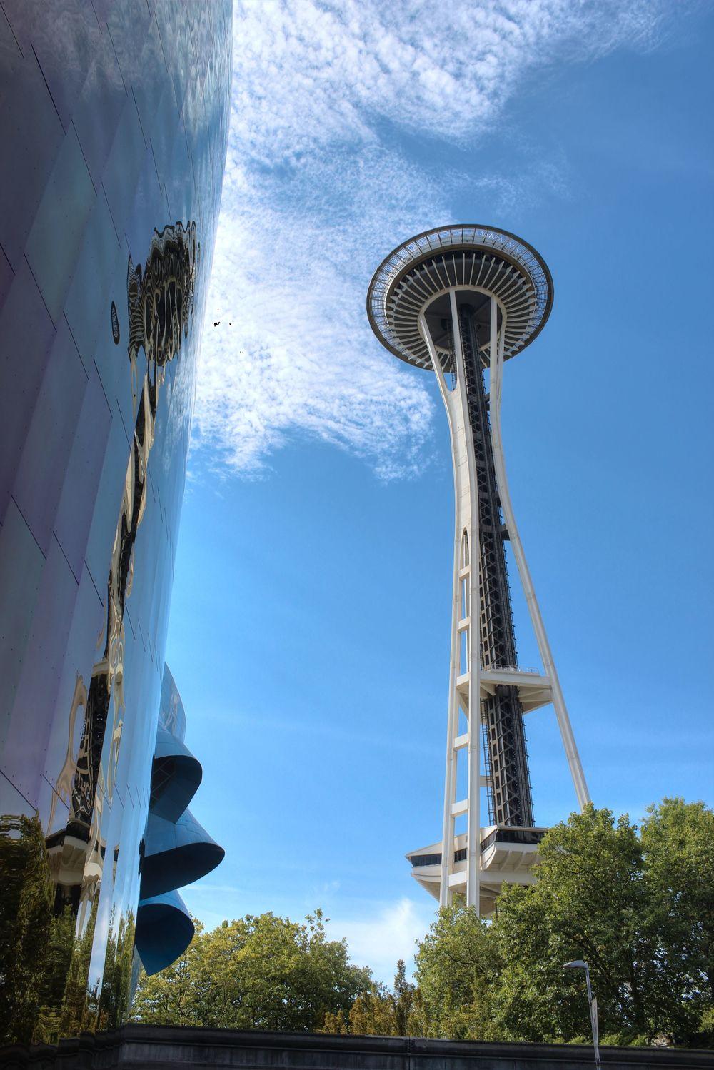 Space Needle, Seattle Center, WA, USA