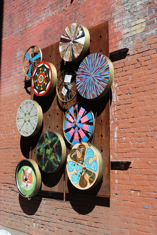 Art de rue, Pioneer Square, Seattle, WA, USA