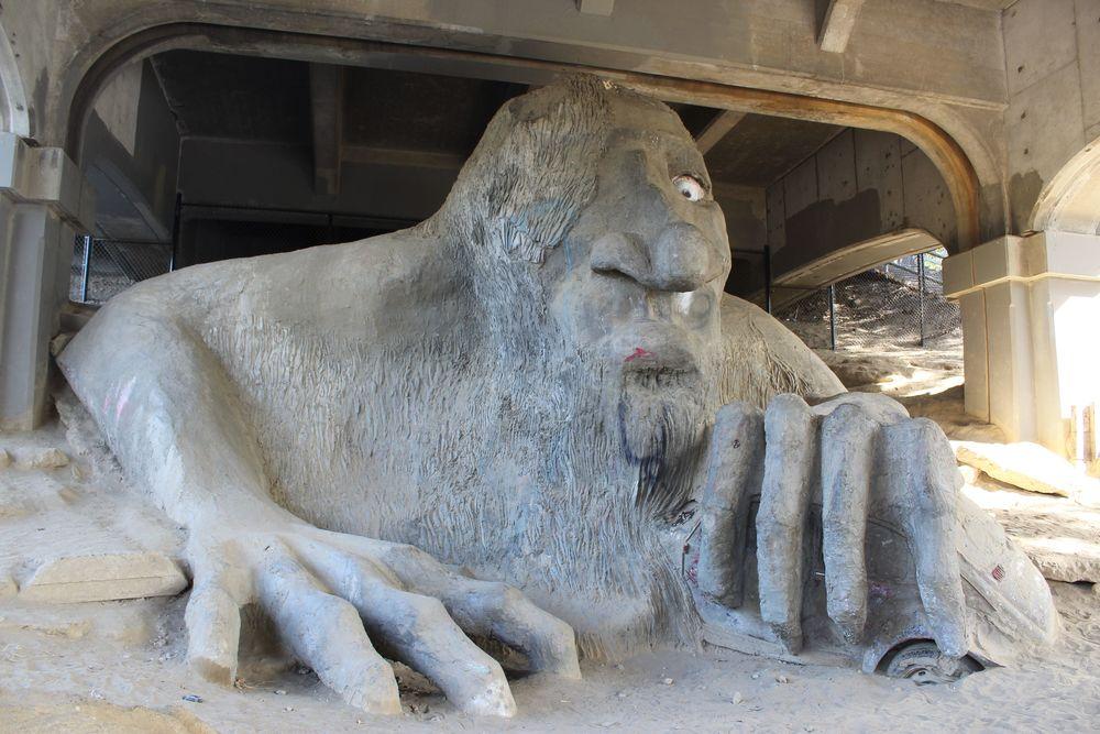 The Troll, Fremont, Seattle, WA, USA
