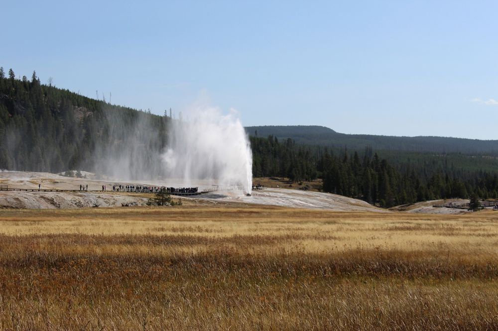 Beehive Geyser, Upper Geyser Basin, Yellowstone National Park, WY, USA