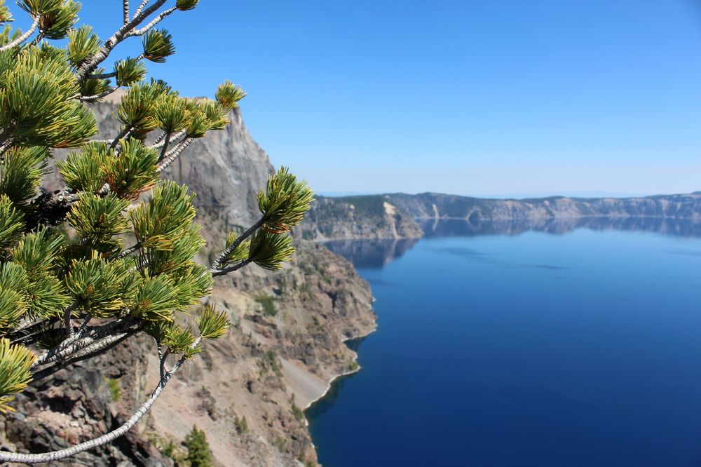 West Rim Drive, Crater Lake National Park, OR, USA