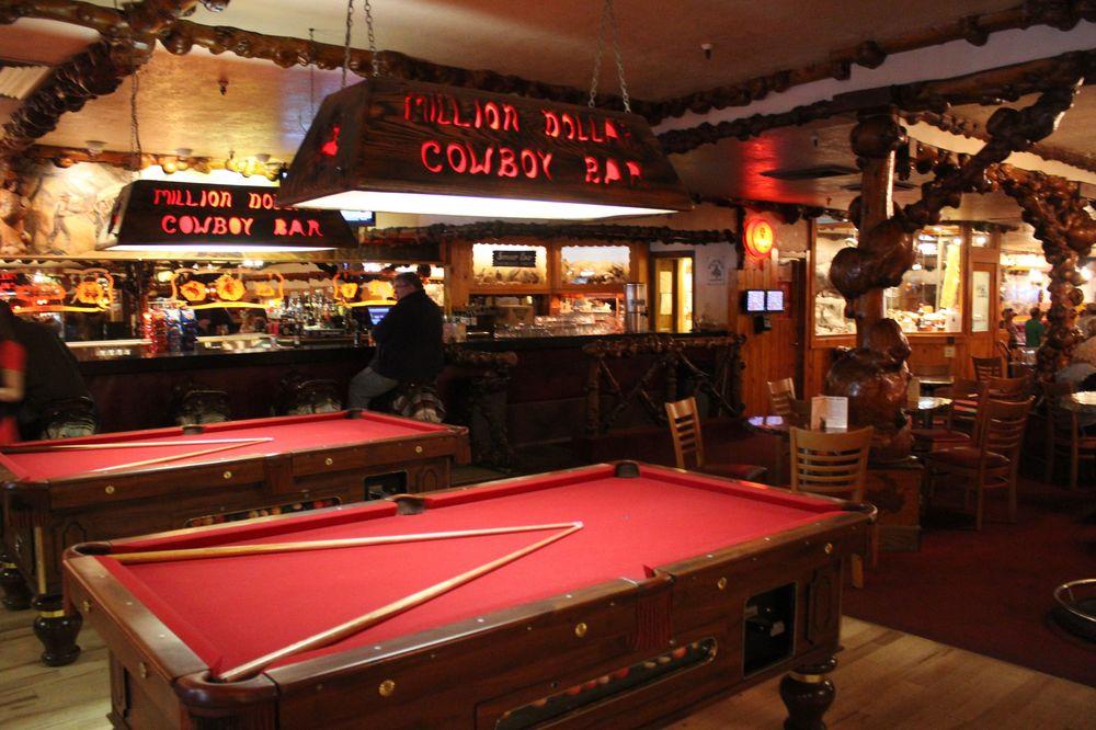 Million Dollar Cowboy Bar, Jackson, WY, USA