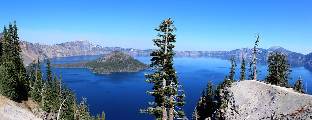 Watchman Peak, Crater Lake National Park, OR, USA