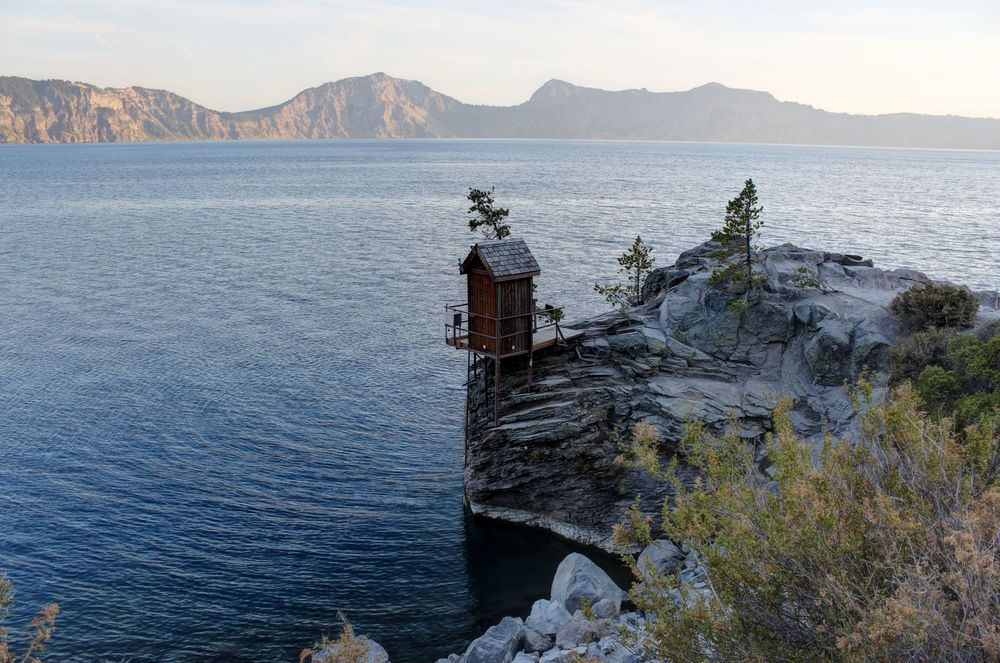 Cleetwood Cove Trail, Crater Lake National Park, OR, USA
