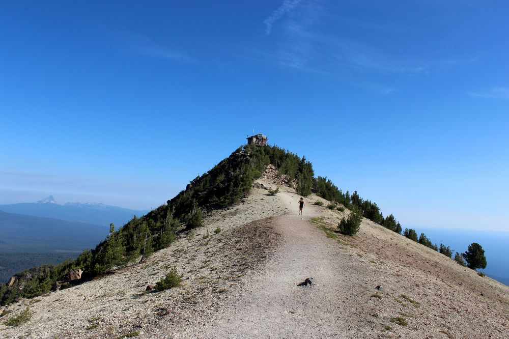 Mount Scott, Crater Lake National Park, OR, USA