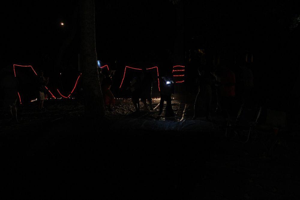 Au camping de Guerneville, Sonoma County, CA, USA