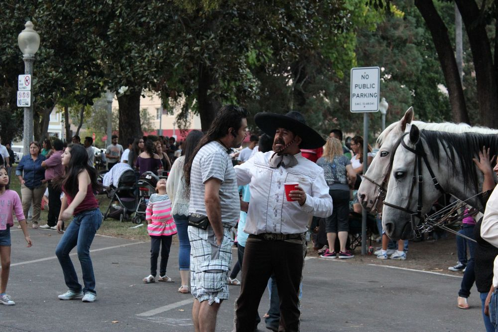 Fête mexicaine à Napa, CA, USA